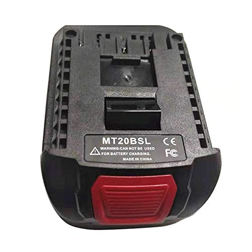 hudiemm0B Battery Adapter, MT20BSL Portable Battery Converter Adapter for Bosch 18V Lithiu-m Power Tool