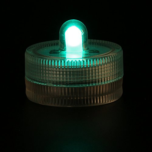 Kitosun CR2032 Battery Operated 3cm Mini LED Submersible ...