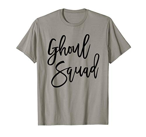 Ghoul Squad Halloween Group Team Bachelorette Party Shirt T ()