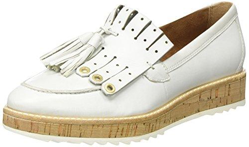 Tamaris Blanc 117 Femme 24701 Mocassins Leather white WqRZz1BwU