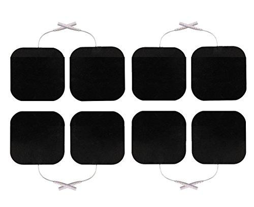 8 Stück Elektroden 50 x 50 mm für SaneoTENS, SaneoSPORT, SaneoVITAL und andere TENS EMS Reizstromgeräte