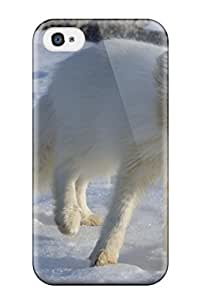 New Style JasonM Arctic Foxes Premium Tpu Cover Case For Iphone 4/4s