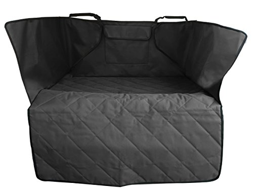 Leader Accessories Anti Slip SUV Cargo Covers Liner Black for Pets Waterproof Car Seat Covers for Pet Dogs by Leader Accessories