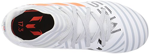 Kids' Clear White Nemeziz Orange Grey Soccer adidas J 3 Messi Solar Fg 17 Shoes 6dxwqz7