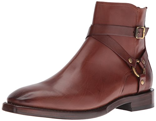 Frye Mens Weston Cross Strap Harness Boot 85034-whisky
