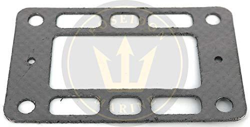 (Poseidon Marine Elbow Gasket for Volvo Penta V6 V8 RO: 857618 Elbow 857037 & 856891 Before 1993)