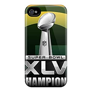 Cometomecovers Scratch-free Phone Cases For Iphone 6- Retail Packaging - Green Bay Packers