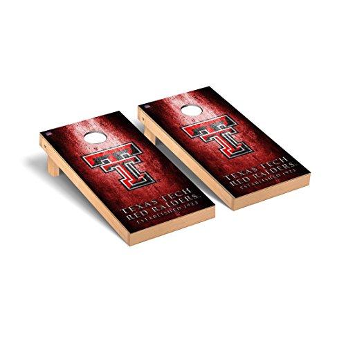 (Victory Tailgate Texas Tech Red Raiders Regulation Cornhole Game Set Museum Version)