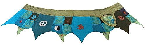 SHOPOHOLIC FASHION - Falda - Asimétrico - para mujer Green Turquoise