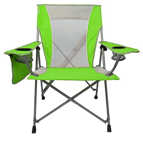 Lime Lock - Kijaro Coast Dual Lock Beach Chair, Key West Lime Green