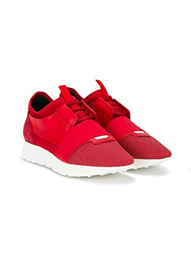 sélection premium 61df0 46883 Balenciaga Femme 454488W0YX4 Rouge Tissu Baskets: Amazon.fr ...