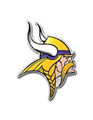 NFL Minnesota Vikings Die Cut Color Automobile Emblem