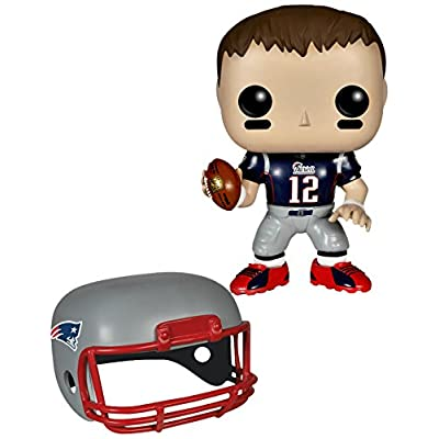 Funko POP NFL: Wave 1 - Tom Brady Action Figures: Funko Pop! Sports:: Toys & Games