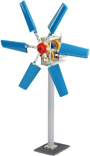Thames & Kosmos Wind Power 2.0 Science Experiment Kit | Build Wind-Powered Generators to Energize Electric Vehicles | 3-Foot-Tall Long-Bladed Turbine | Experiments in Renewable Energy by Thames & Kosmos (Image #3)