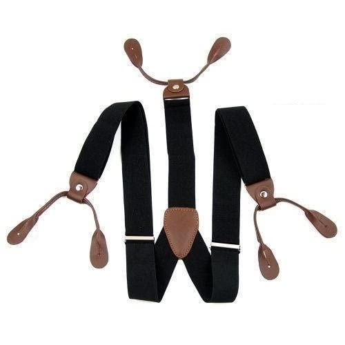 25mm Réglable Hommes Unisexe Boutonnière Robe Habillée Bretelles Ceinture Pour Femmes par Trimming Shop