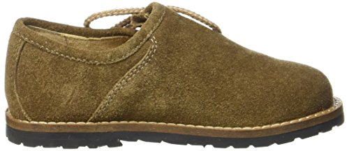 Stockerpoint Unisex-Kinder 3399 Derbys Braun (Torf Antik)
