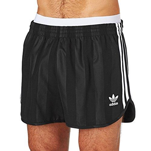 8504587e4 adidas Originals Mens 3 Stripe Tonal Retro Football Shorts - Black - XS:  Amazon.co.uk: Clothing