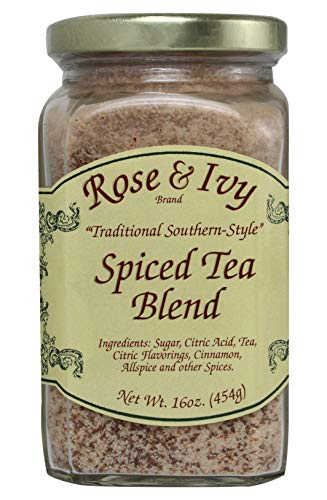 (Rose and Ivy Spiced Tea Mix - Traditional Southern Style - 16 Ounce)