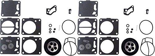 Mikuni Dual Carb Carburetor Rebuild Kit Compatible with Yamaha Seadoo Polaris Super BN SBN -  JSP Manufacturing, CRK-MK-15-001-02