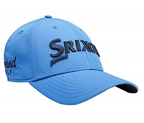 (Srixon Men's Tour Staff Cap, Electric Blue/White, One Size)