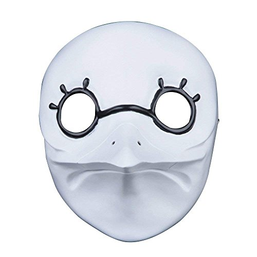 Halloween Cosplay Mask,Horrific Demon Adult Clown Scary Funny Doctor Beak Face Mask for Cosplay, Costume Party and Movie Prop