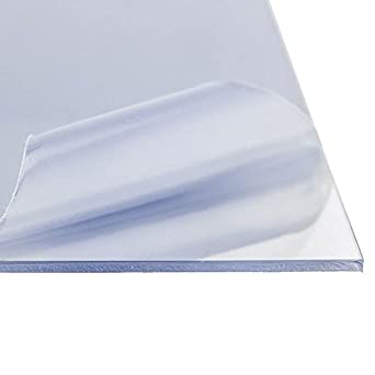 Amazon Com Online Plastic Supply Clear 0000 Acrylic Sheet 0 060 1 16 Inch 13 625 Inches X 22 75 Inches Industrial Scientific