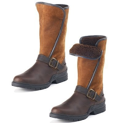 Ovation Ladies Blair County Boots - Size:39 Color:Brown by OVATION