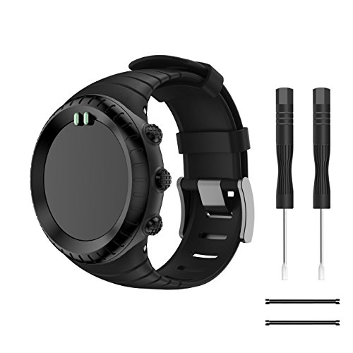 Compatible SUUNTO core 벨트 YAYUU SUUNTO (슨 트) Core 코어 소프트 고급 TPU로 만들어진 손목 스트랩밴드 교체 벨트 팔 라 / Compatible SUUNTO Core Belt YAYUU SUUNTO- Sund- Core Core Only Soft Luxury TPU Watch Strap  Band Replacement Be...