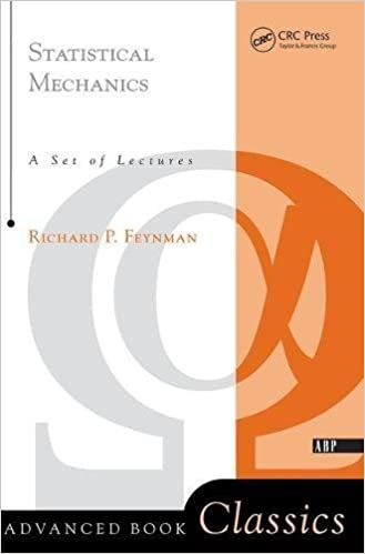 Statistical mechanics; a set of lectures