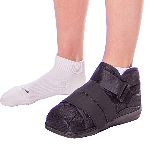 BraceAbility Closed Toe Medical Walking Shoe Protection Boot-L ()