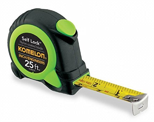 Komelon SL2825IE 4 Pack 25ft. Self Lock Tape Measure