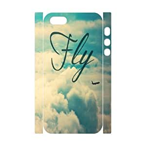 Fly Design Cheap Custom 3D Hard Case Cover for iPhone 5,5S, Fly iPhone 5,5S 3D Case