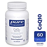 Pure Encapsulations - CoQ10 500 mg - Hypoallergenic Coenzyme Q10 Supplement - 60 Capsules