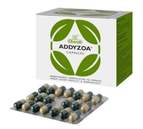 Charak Addyzoa 40 Capsules