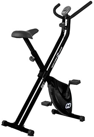 BT BODYTONE - DU-X - Bicicleta Estática Plegable para Tus sesiones Fitness en casa - Pantalla Led y Pulsómetro - Peso Máximo Usuario 100 KG.: Amazon.es: Deportes y aire libre