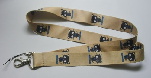 Cute Chococat Cell Phone Key ID Badge Lanyard Strap
