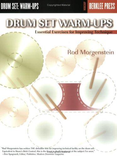 Workshop Rod - Drum Set Warm-Ups: Essential Exercises for Improving Technique (Workshop Berklee Press)