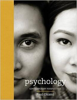 PERSPECTIVES OKAMI PAUL CONTEMPORARY PSYCHOLOGY