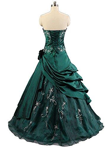 Kmformals Damen Formales Abschlussball Kleid Ballkleid Prom Kleider ...