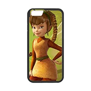 iPhone 6 4.7 Inch Cell Phone Case Black Disney Fairies Character Fawn 08 Juct