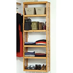 John Louis Home JLH-620 Standard Stand Alone Tower, Honey Maple