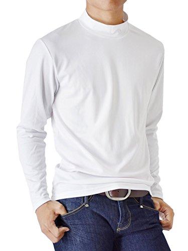(アローナ) ARONA ドライストレッチTシャツ メンズ 接触冷感 UVカット ゴルフウェア ラッシュガード /M1.5/
