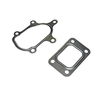 Vehicle Parts & Accessories T2 T25 GT25 T28 GT28 GT28R Turbo Outlet Elbow Downpipe Stainless Gasket 5 bolt