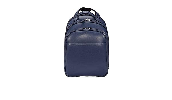 347bb1d998 Amazon.com  Montblanc Sartorial Small Leather Backpack - Indigo  Shoes