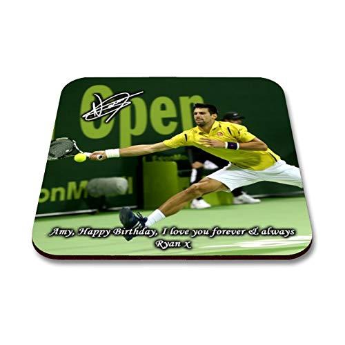 Star Prints UK Novak Djokovic - Wimbledon - Tennis 2 Personalised ...