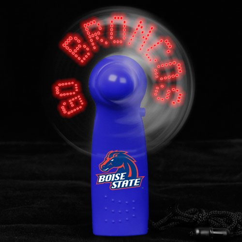 NCAA Boise State Broncos Light-Up Handheld Message Fan