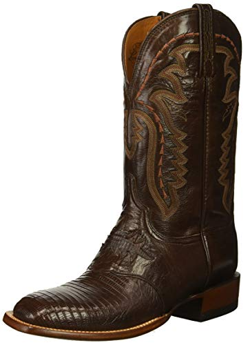 Lucchese Bootmaker Men's Limited Edition Western Boot, Cigar, 8 D US (Lucchese Lizard Boots)