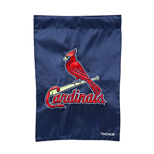 Ashley Gifts Customizable Embroidered Garden Size MLB Flag, St Louis -
