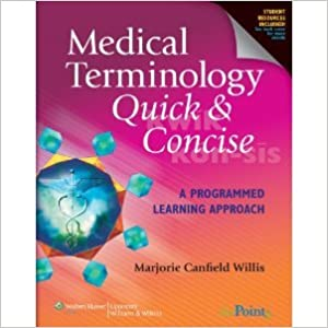 Download online Medical TerminologyQuickConcise byWillis PDF, azw (Kindle), ePub