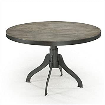 Amazoncom Magnussen Walton Wood Round Dining Table Tables